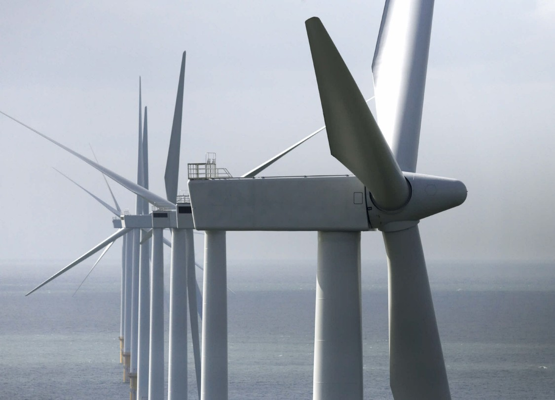Siemens Wind Power offshore wind turbines, 2008