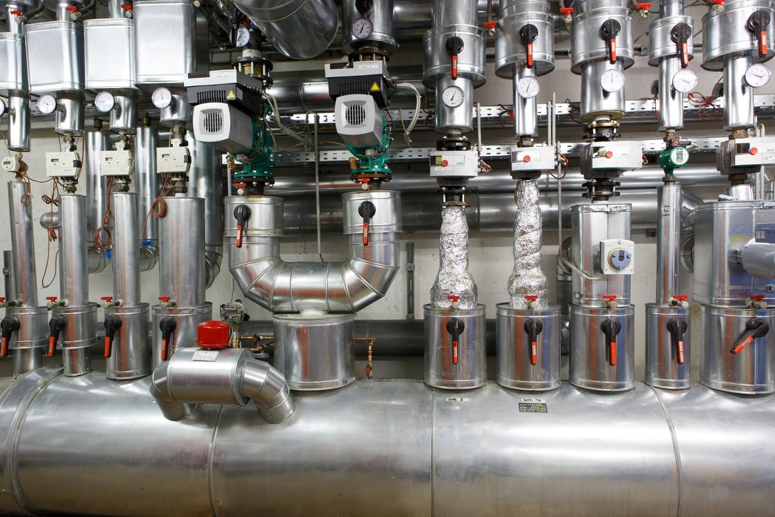 Siemens Gebäudetechnik im Pfalzklinikum in Klingenmünster