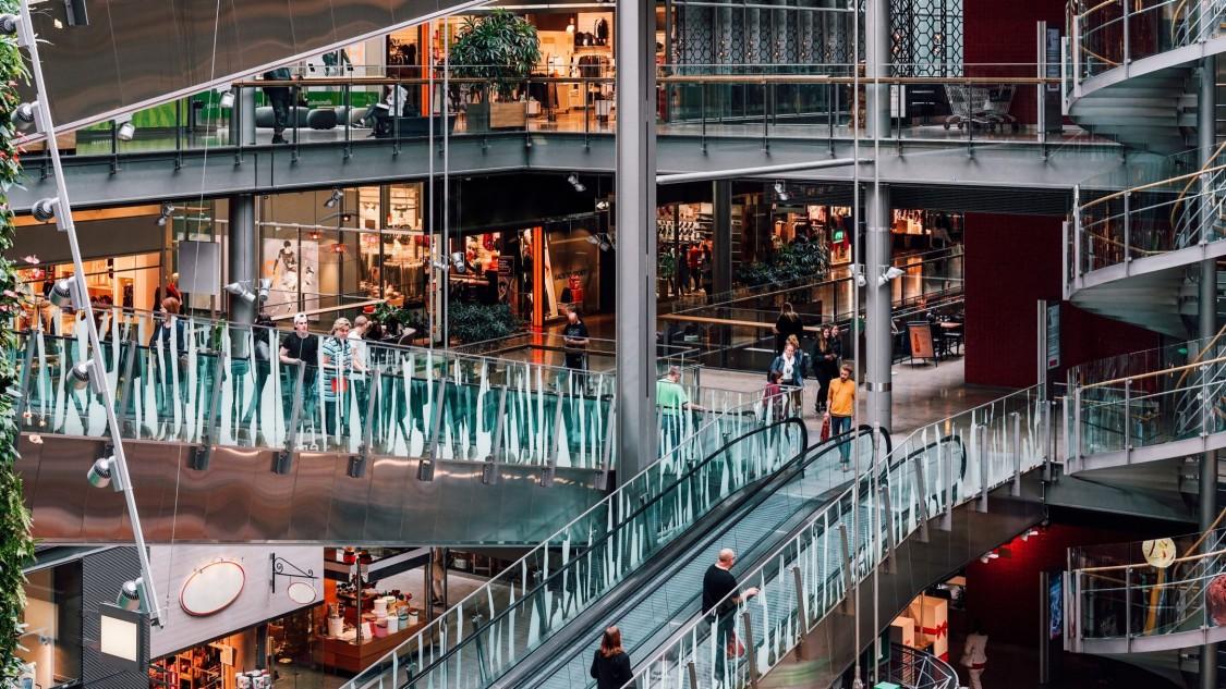 Einkaufszentrum Sello