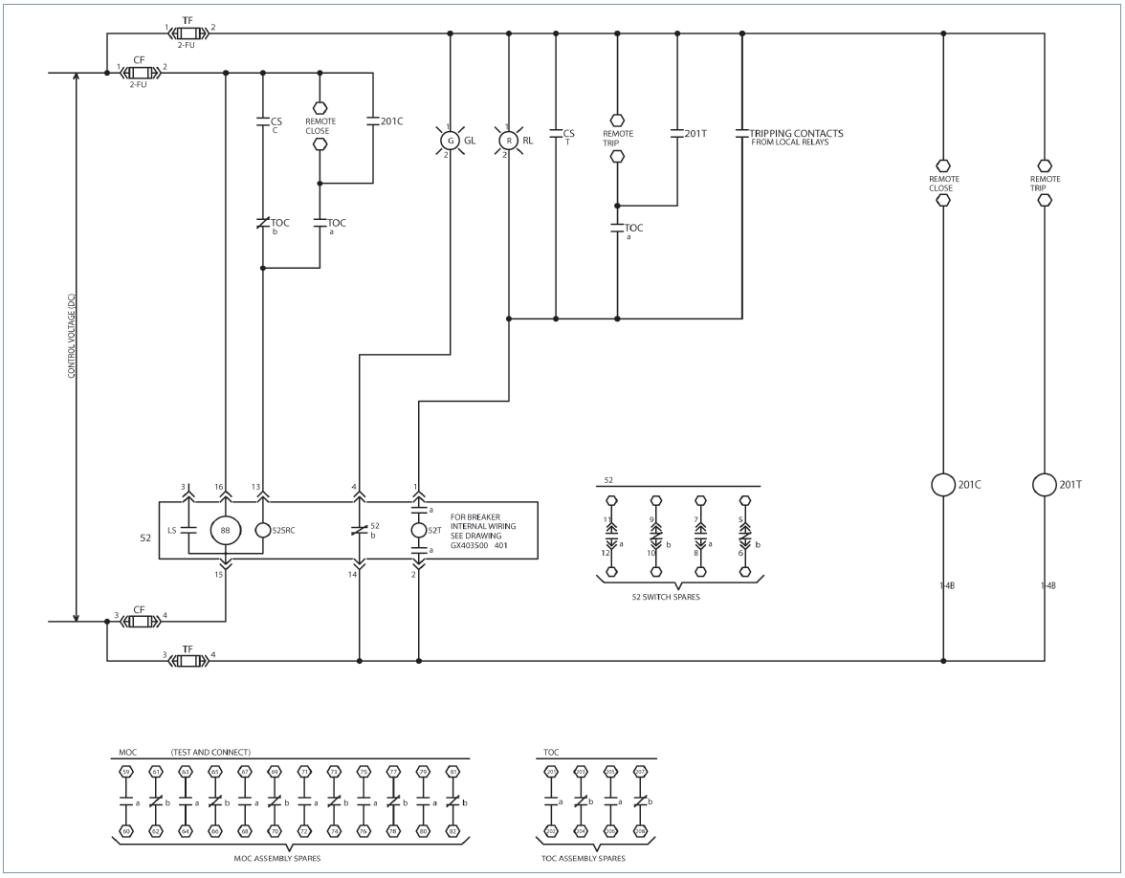 interposing relay wiring diagram techtopics no 43 techtopics siemens usa  siemens usa