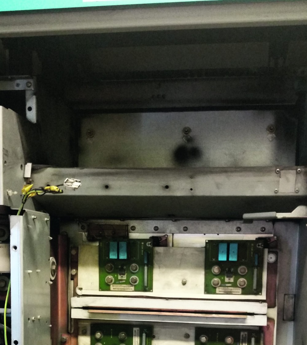Third step of removing MASTERDRIVES chassis