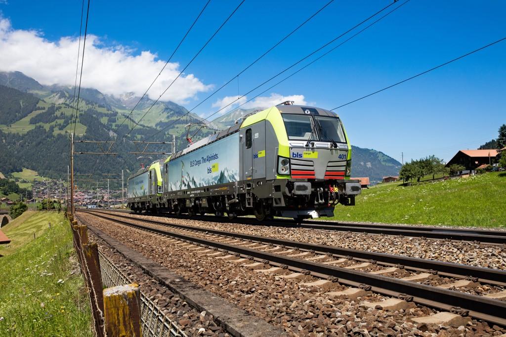 BLS Cargo commande 25 locomotives à Siemens Mobility