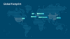 Worlmap - global Footprint