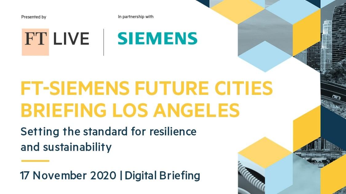 FT-Siemens future cities briefing