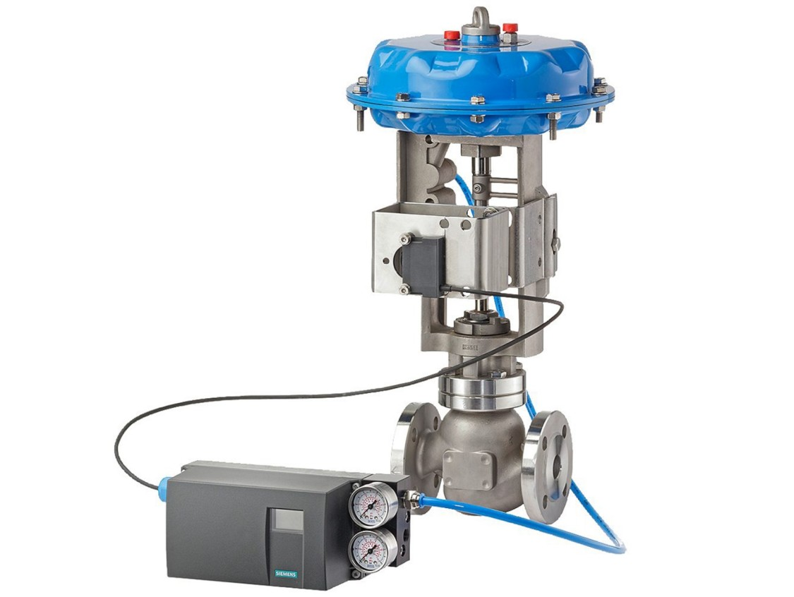USA   PS2 valve positioner with external position detection with NCS