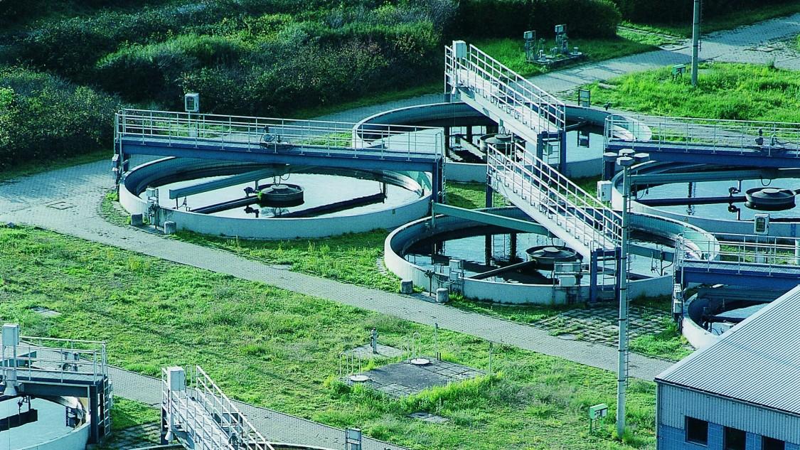 Afvalwaterzuivering aangedreven door SIRIUS 3RW Softstarters