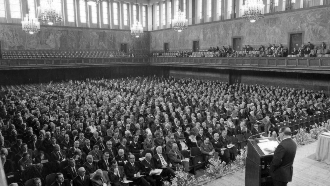 Siemens Hauptversammlung, 1969