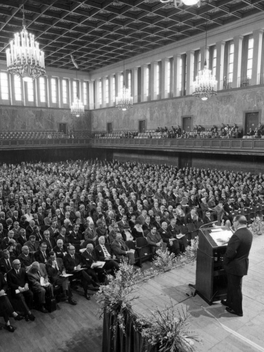Siemens Hauptversammlung 1969