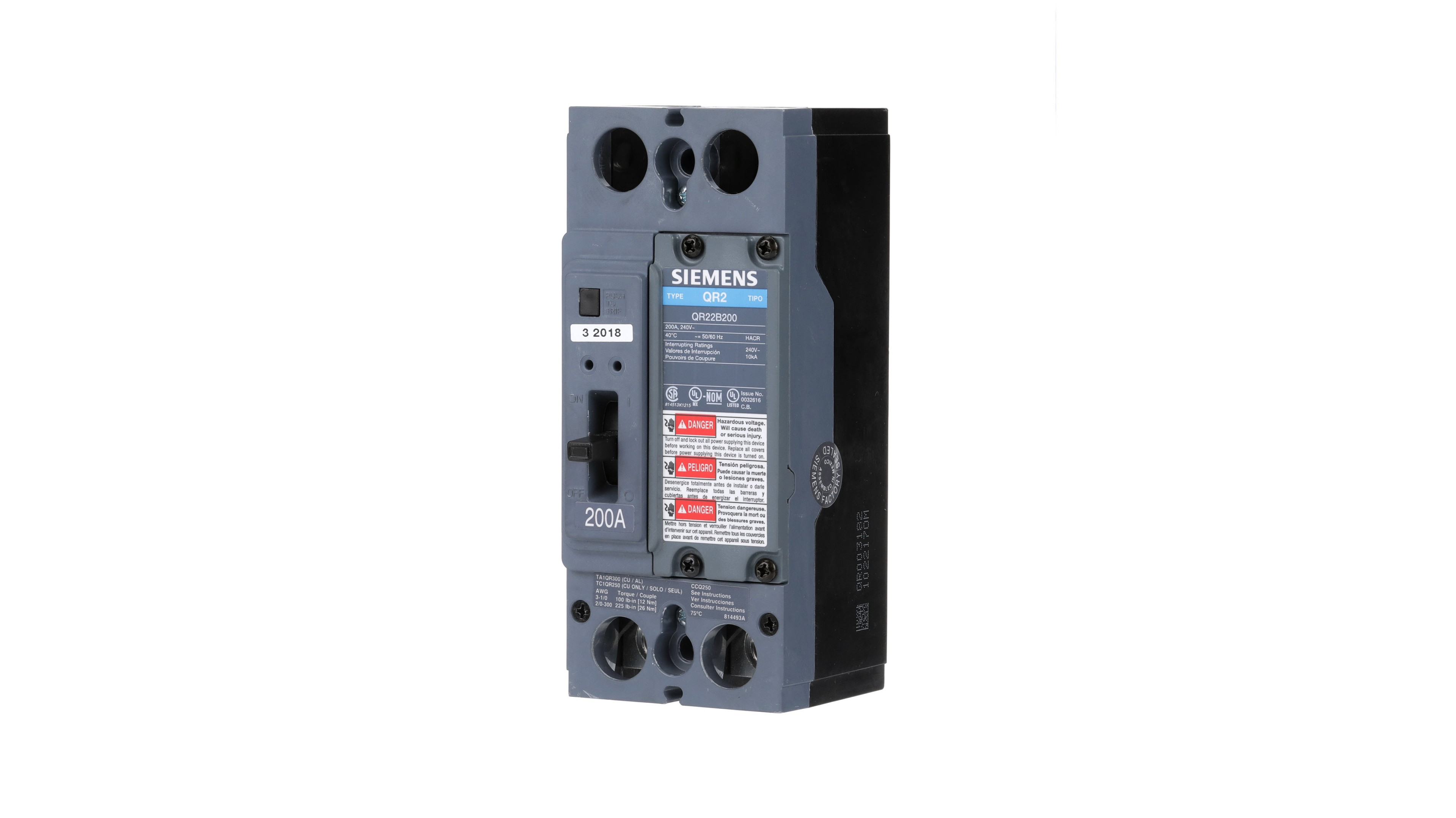 General Purpose Molded Case Circuit Breakers Low Voltage