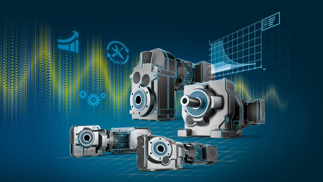 Key Visual Getriebemotoren SIMOGEAR