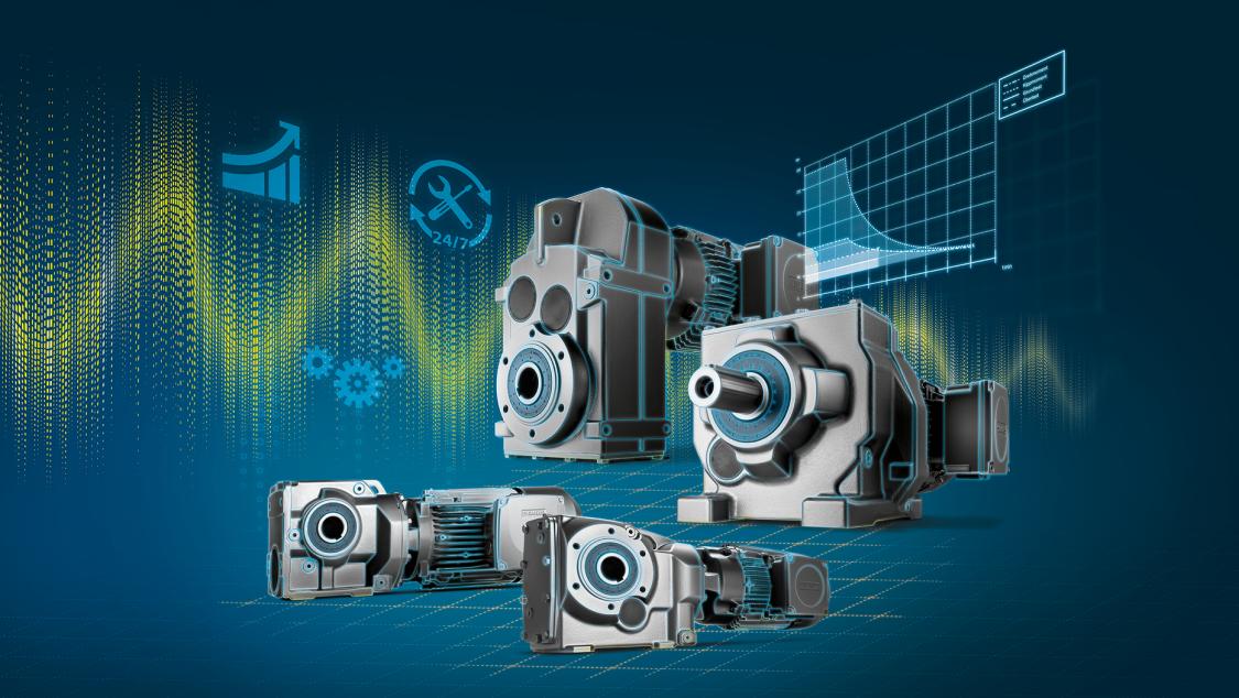 Key visual SIMOGEAR geared motors