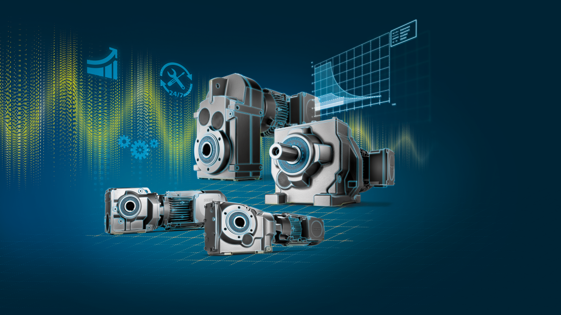 Key visual SIMOGEAR geared motors