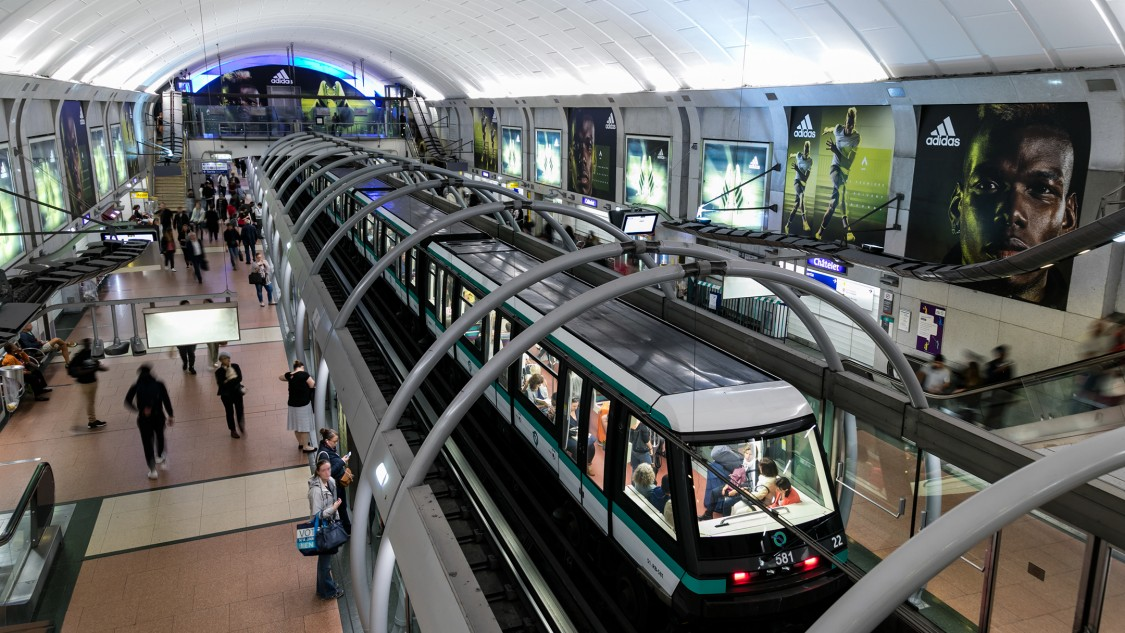 Linie 14, Paris, Frankreich – mit Trainguard MT für CBCT