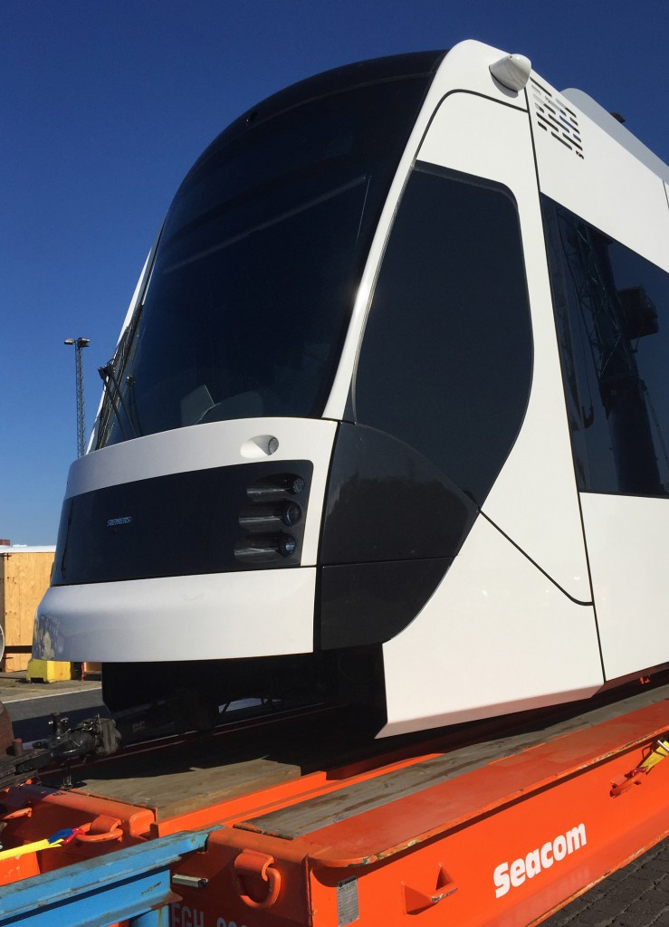 Siemens embarks its first hybrid tram for Doha