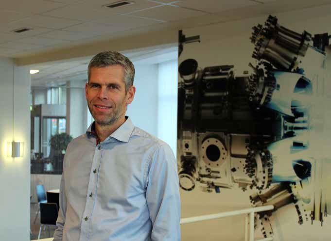 Björn Axelsson, systemansvarig för Comos på Siemens Industrial Turbomachinery i Finspång.