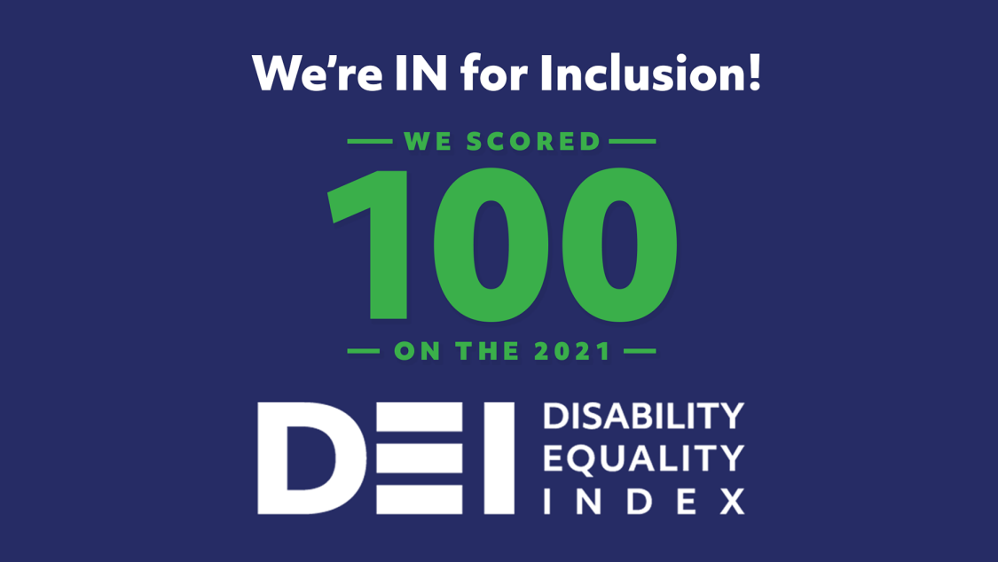 IN for Inclusion: DEI Disability Equality Index