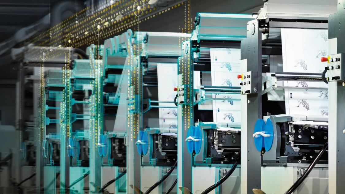 Printing machines Key Visual