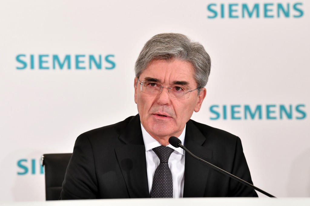 Joe Kaeser, President and Chief Executive Officer Siemens AG.