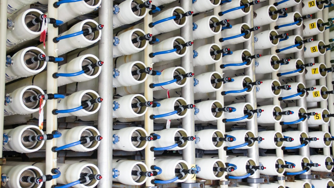 优化反渗透海水淡化工厂