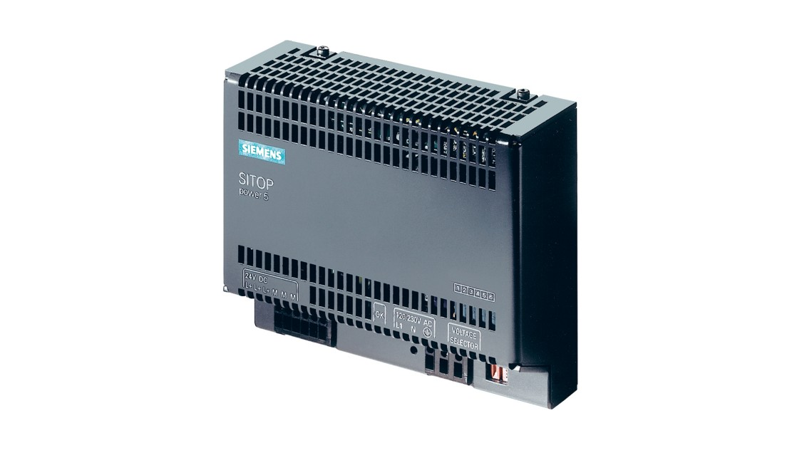 Product image SITOP power, 1-phase, DC 24 V/5 A