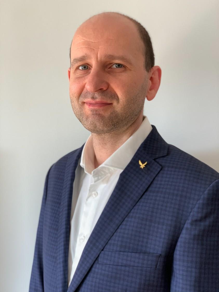 Jacek Dziedzic, koordynator techniczny w firmie Elettric80