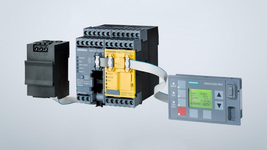 Motor- en energiemanagement SIMOCODE pro