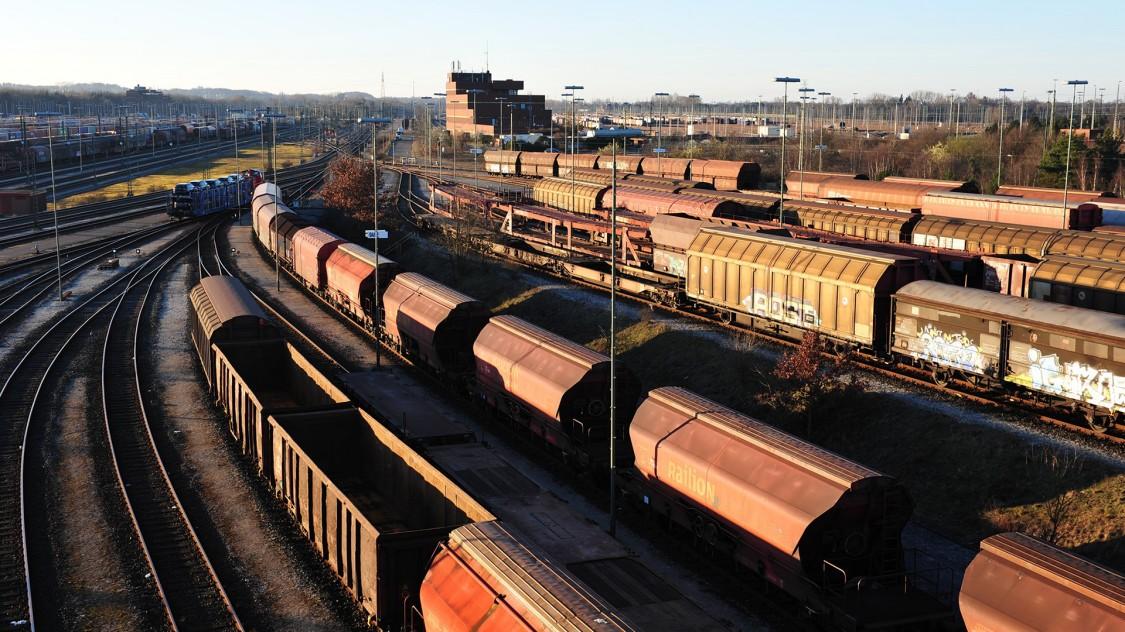 Rangierbahnhöfe und Depots-Lösungen