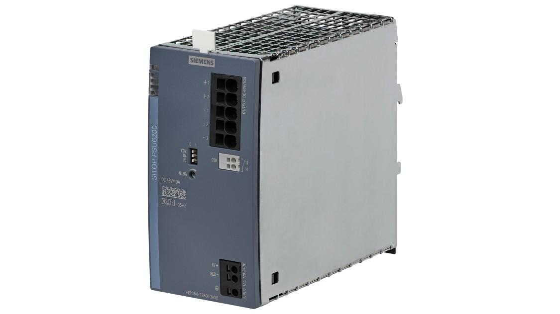 SITOP PSU6200, 1-phase, 48 V DC/10 A, 6EP3346-7SB00-3AX0
