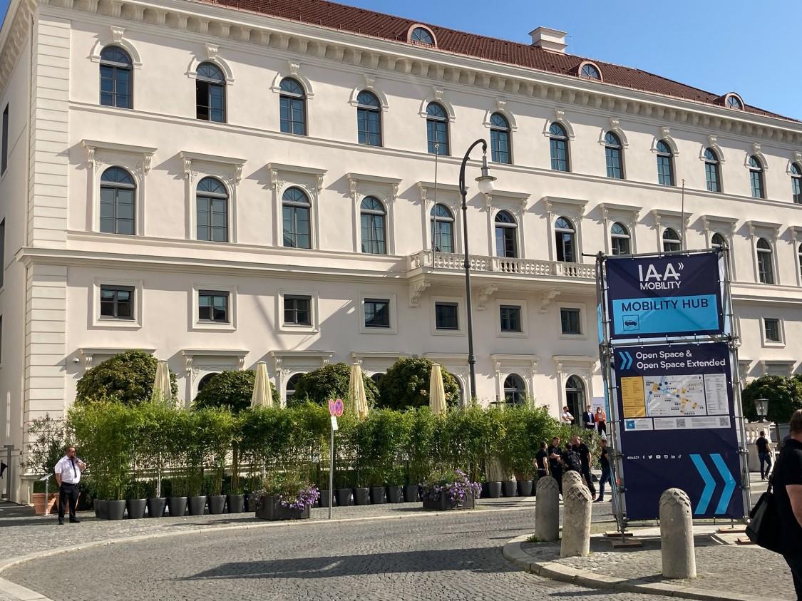 Siemens Headquarter München als Teil des Ausstellungkonzepts