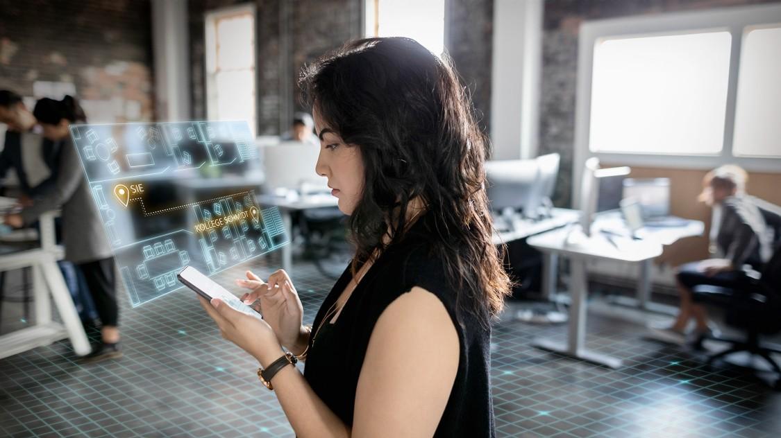 Perfekte Orientierung im flexiblen Büro