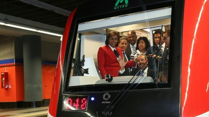 Santo Domingo's first metro