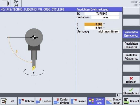 CNC4you Ausrichten Drehwerkzeug