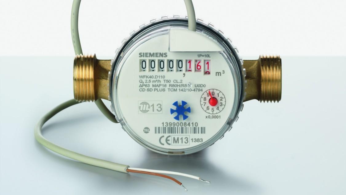 Medidores de agua mecánicos