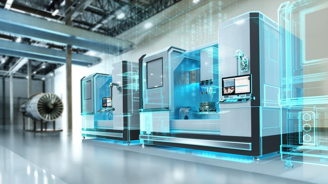 Digitalisierung für die Produktion mit Werkzeugmaschinen