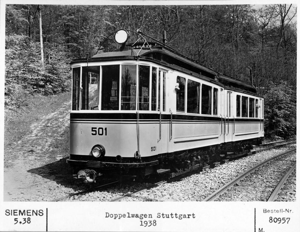Straßenbahn-Doppelwagen 501 (1938)