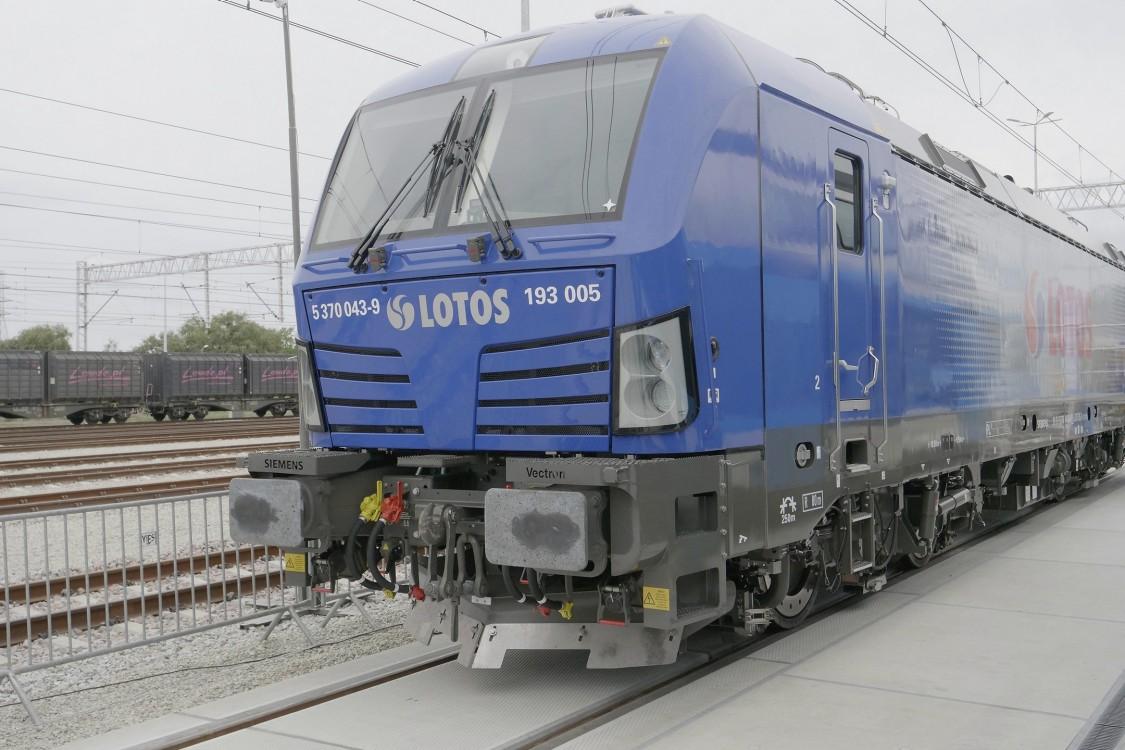 Vectron MS - Najnowocześniejsza lokomotywa w Europie dotarła do Gdańska