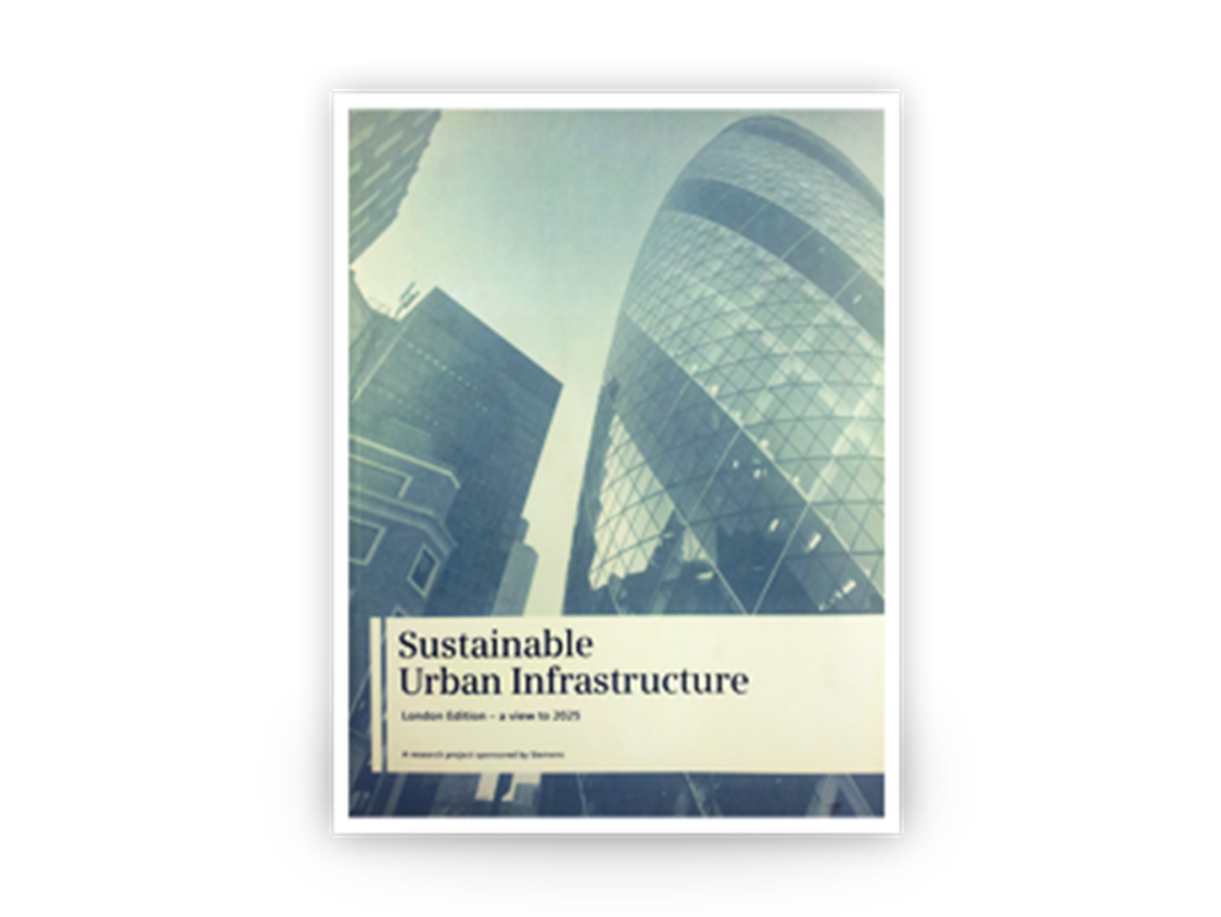 In London, Siemens and McKinsey published an influential study on sustainable urban infrastructure.