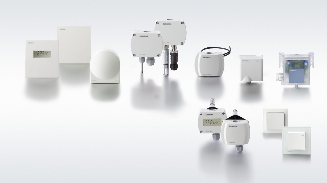 Comprehensive sensor portfolio for building automation & control