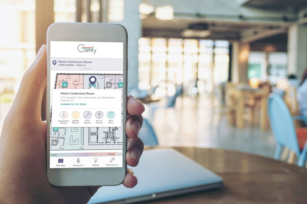Workplace app Comfy joining Siemens to create personalized and responsive buildings