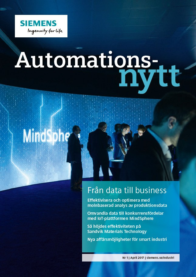 Automationsnytt Nr 1 | April 2017