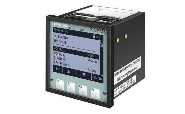 Power Quality and Measurement Recorder - Multifunctional - SICAM Q100