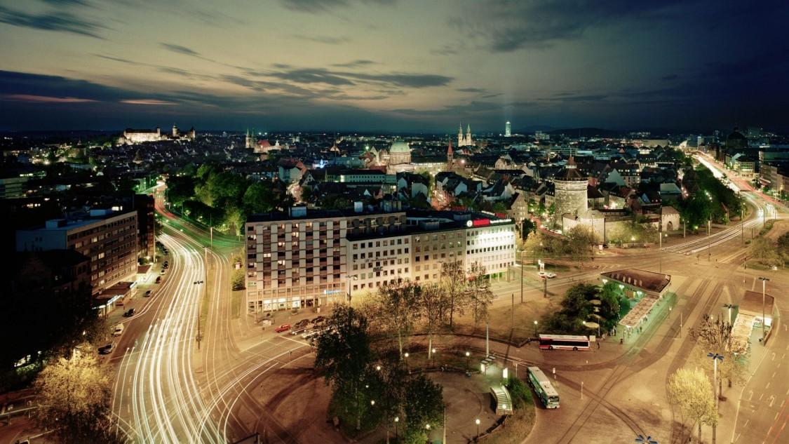 Nürnberg in der Nacht