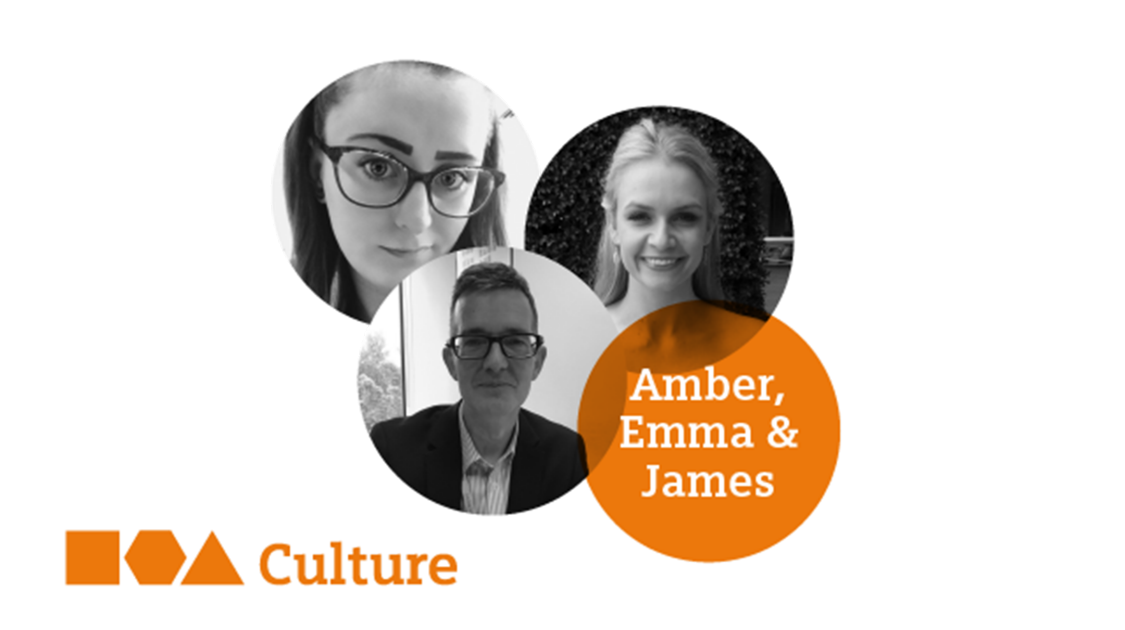 Emma, Amber & James  - Pushing for honest conversations to drive diversity