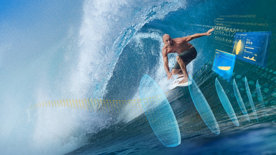 Surf na mieru v štýle Kelly Slatera?