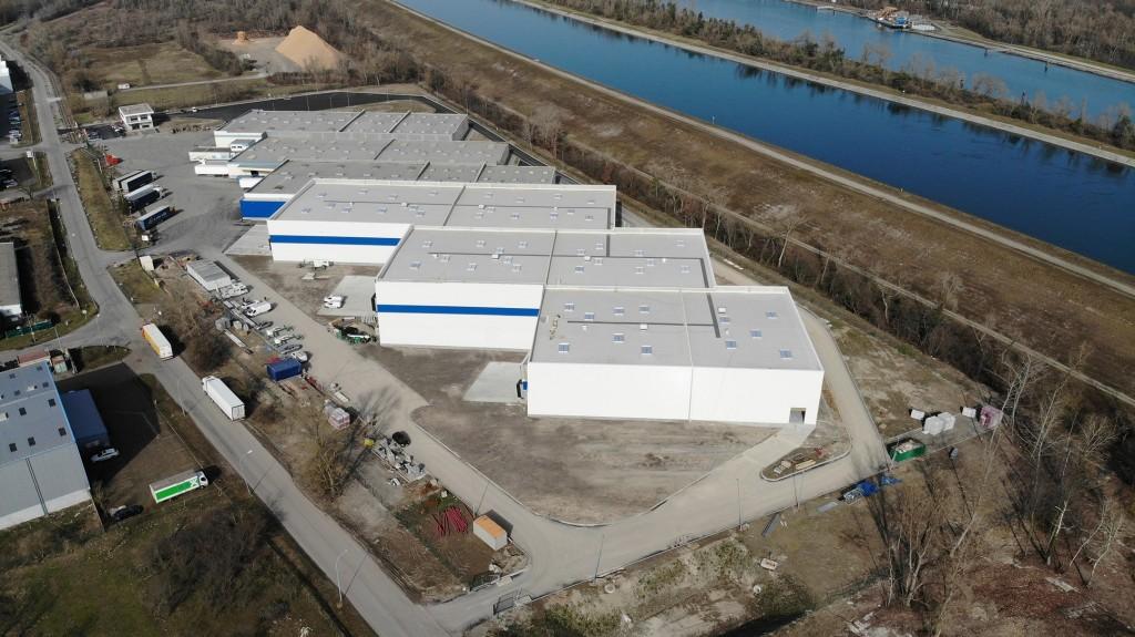 Photo SI FR aérienne de Tym logistique Hombourg