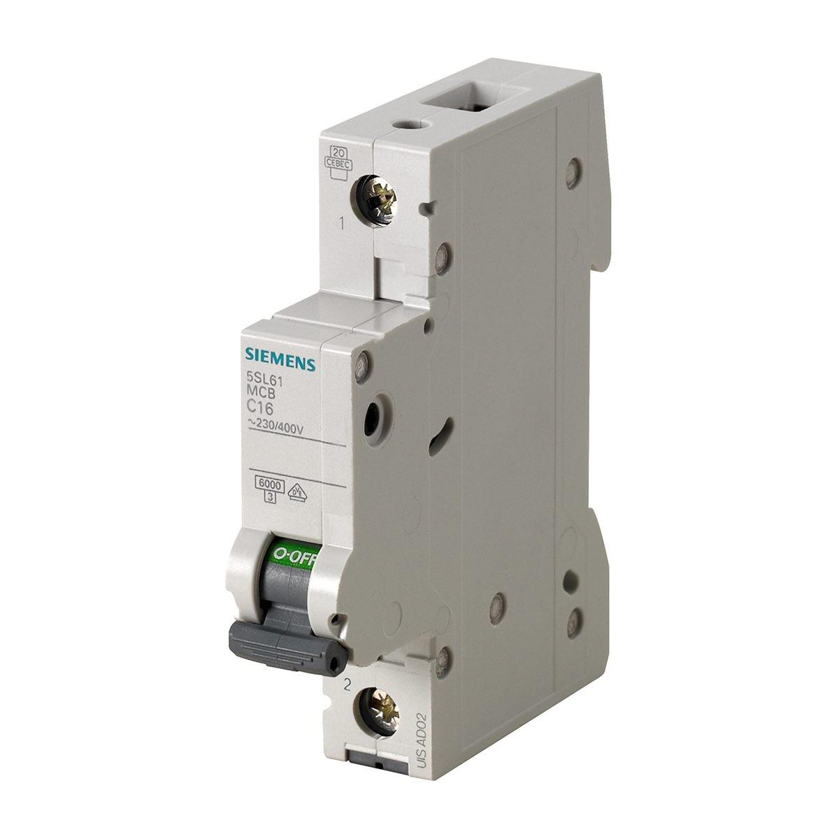 Siemens linea disgiuntore backup 5sx22 C 2 2 P Poli C 2a NUOVO