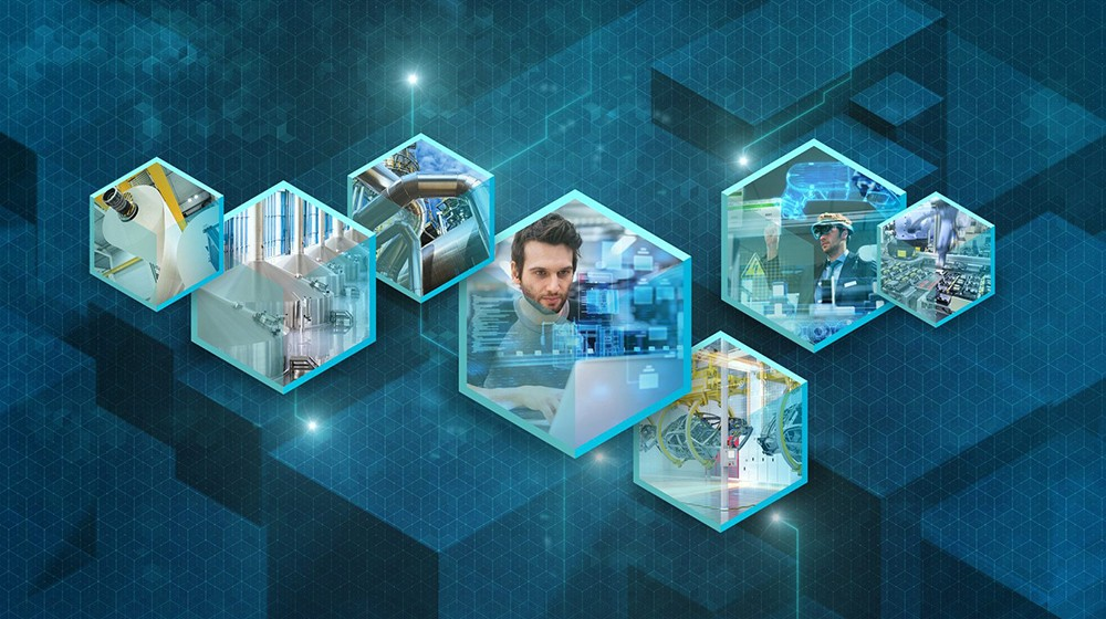 Keyvisual Siemens at the Hannover Messe 2018