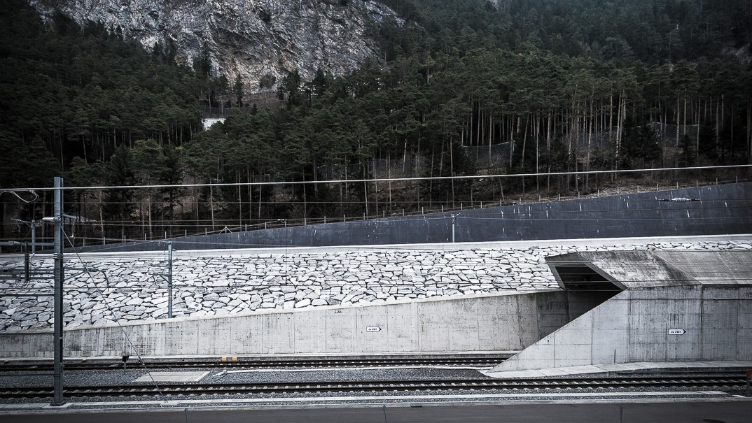 South entrance of the Gotthard Base Tunnel