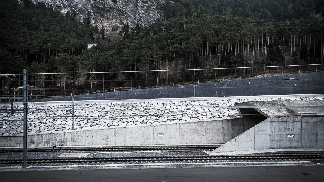 Südportal des Gotthard-Basistunnels