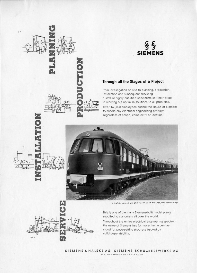 "Imagekampagne ""Through all the Stages of a Project"", 1956"